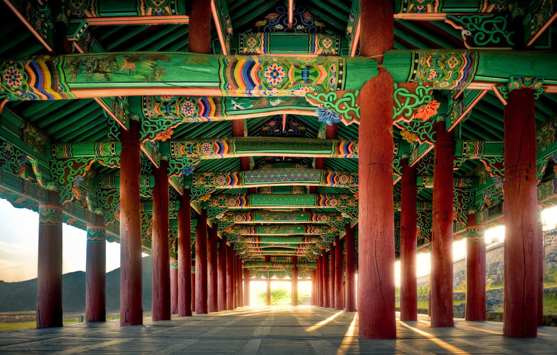 Korean traditional architecture hanok aesthetics in the for Architecture art